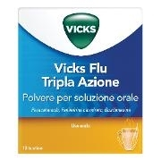 VICKS FLU TRIPLA A*OS POLV10BS